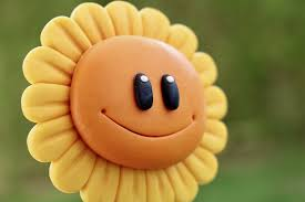 Smiling yellow flower
